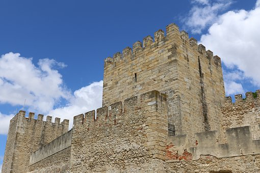 Portugal, Old, Castle, Fortress, Tourism