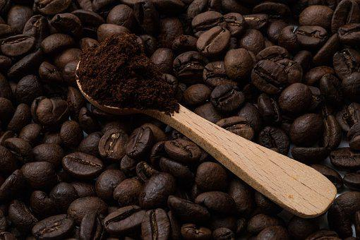 Coffee Beans, Aroma, Caffeine, Brown, Roasted