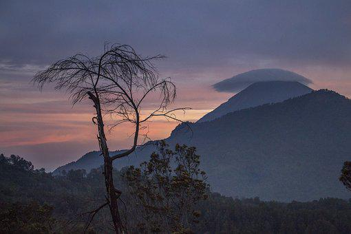 Mount, Semeru, Cloud, Nature, Travel, Indonesian, Java