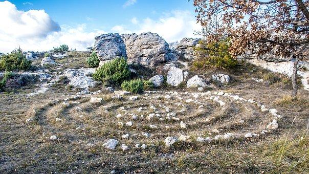 Pagan, Ritual, Spiritual, Ancient, Design, Stone