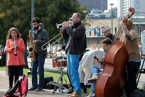 New Orleans, Street Performer, Music, Singing