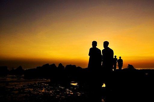 Golden Sunset, Beautiful Sunset, Landscape, Sun, Sky