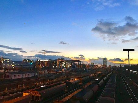 Rails, Train, Railway, Railway Station, Travel, Traffic