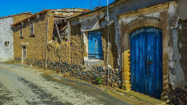 Street, Old Houses, Abandoned, Aged, Weathered, Decay