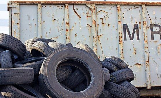 Mature, Altreifen, Rubber, Auto, Waste, Old