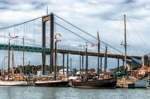 Port, Sailing Boat, Boat Masts, Ship, Baltic Sea