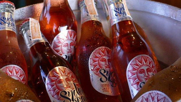 Cold Drinks, Glass Bottles, Drink, Bar, Bottle