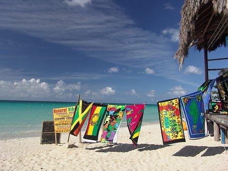 Beach, Vacations, Bar, Towel, Jamaica, Recovery