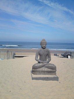 Beach, Sea, North Sea, Republiek Bloemendal, Holland