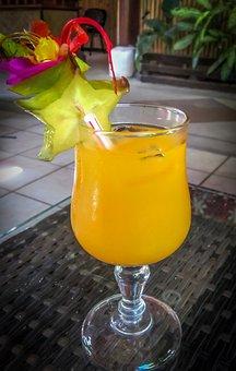 Mai Tai, Star Fruit, Tropical, Bar, Beach, Beverage