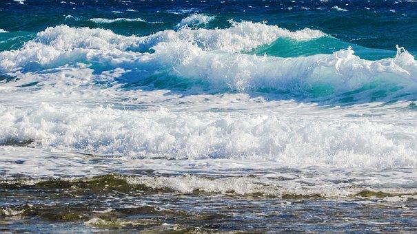 Wave, Bubbles, Foam, Spray, Energy, Water, Splash