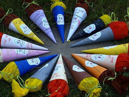 Schoolday Treats, Colorful, Kindergarten, Training