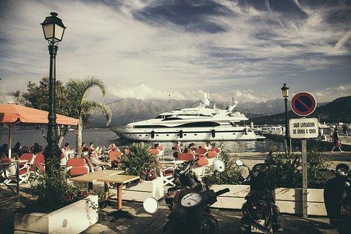 Corsica, France, Island, Sea, Coast, Old Town