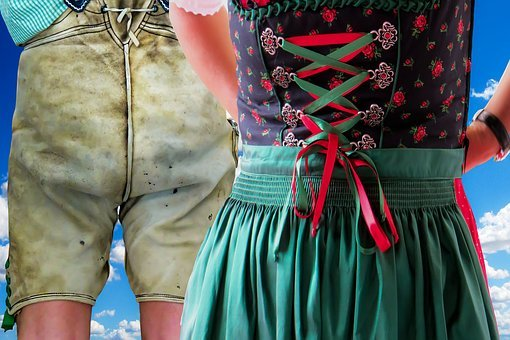Costume, Dirndl, Leather Pants, Tradition, Customs