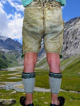 Costume, Leather Pants, Bavaria, Tradition, Customs