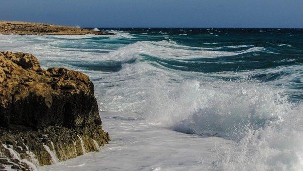 Rocky Coast, Waves, Splashing, Spectacular, Crash