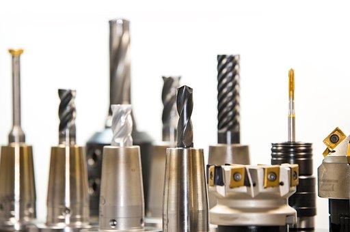 Carbide Drill Bit, Drill, Milling, Milling Machine