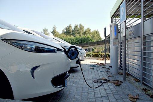Parking Space, Car, Electric Car, Terminal Reload