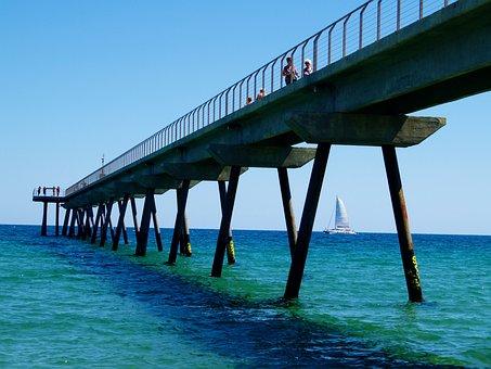 Bridge, Architecture, Building, Europe, Oil, Port