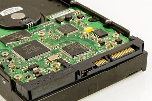 Hard Drive, Hdd, Technology, Digital, Computer, Trace
