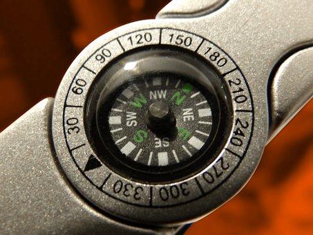 Compass, Detail, Course, Orientation