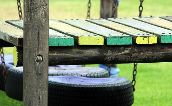 Game Device, Adventure Playground, Wood, Playground