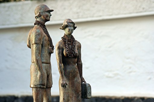 Sculpture, Figurines, The Form Of, Metal, Tenerife