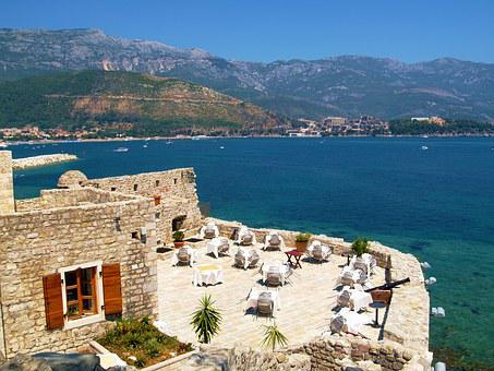 Restaurant, Sea, Table, Outdoor, Luxury, Beach