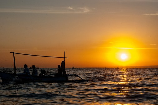 Sunrise, Sea, Sunrise On The Sea, Morgenstimmung, Wave