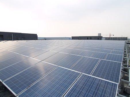Solar, Roof, Power Station, Solar Power Station