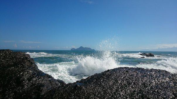 Ilan, Scenery, The Waves, Sea, Wave, Splash
