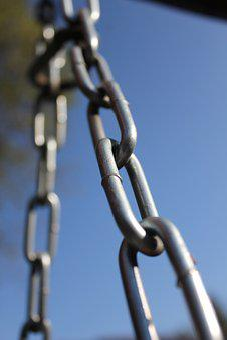Eye, Metal, Chain, Steel, Iron