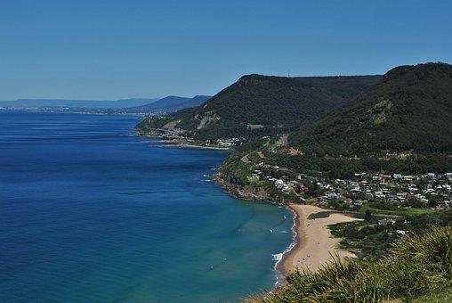 Sea, Stanwell Tops, Wollongong, Sydney, Coastal, Cliff