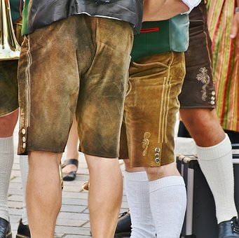 Leather Pants, Costume, Customs, Man, Tradition