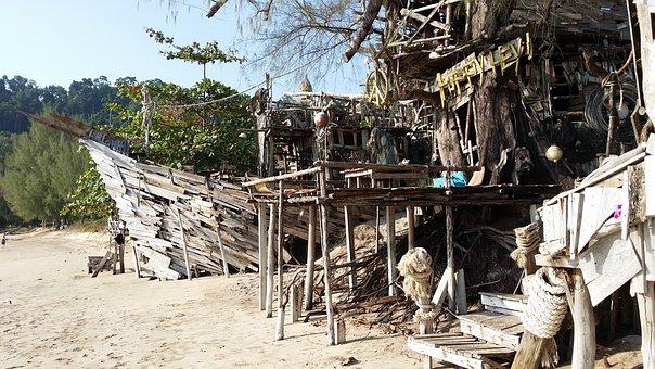 Beach, Sand, Sea, Water, Wave, Vacations, Thailand, Bay