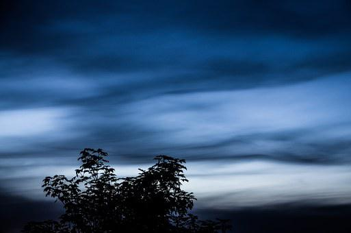 Clouds, At Night, Cloud Phenomenon, Weather Phenomenon