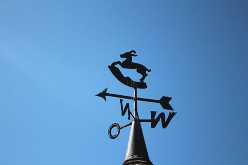 Weather Vane, Wind Direction, Windrose