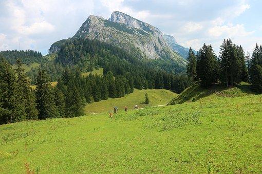 Hiking, Mountains, Alps, Alpine, Austria, Holiday, View