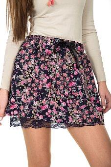 Skirt, Fashion, Leg, Girl, Woman, Sexy, Young, Beauty