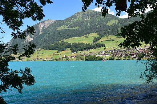 Lake, Landscape, Mood, Water, Blue, Bergsee, Summer