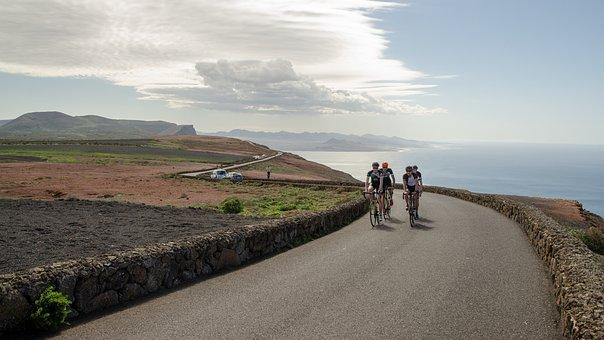 Cycling, Sports, Bicycle, Cyclist, Move, Climb