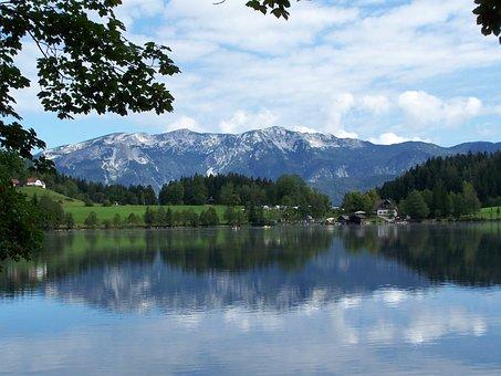 Lake, Carinthia, Austria, Nature, Landscape, Water