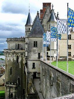 France, Loire, Castles, Chateau Amboise