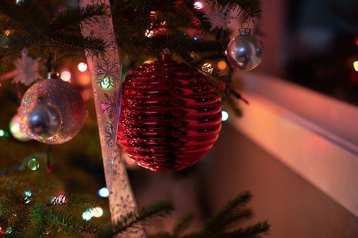 Christmas, Christmas Lights, Ornaments
