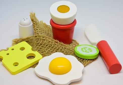 Toys, Dolls Kitchen, Ingredients, Cook, Play, Children