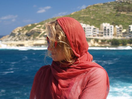 Malta, Blue Sky, Valletta, Vacation, Europe, Travel
