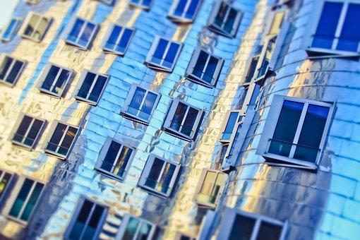 Architecture, Building, City, Window, Modern, Facade