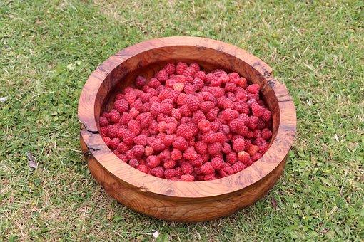 Berries, Raspberries, Sweet, Dessert, Food, Fruit