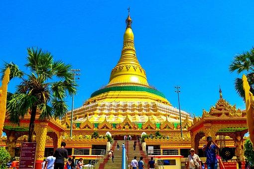 Global, Pagoda, Buddha, Medication, Yoga, Life