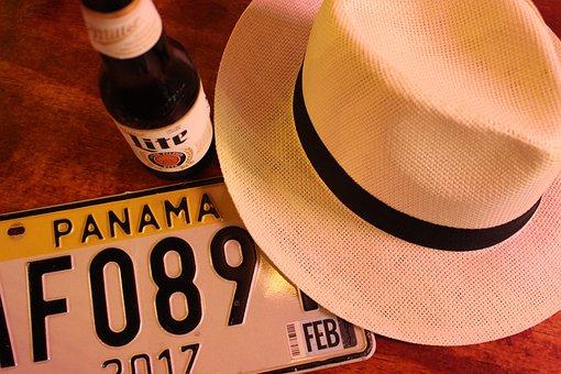 Panama, Hat, Hats, Straw, Headwear, Exotic, Basin, Men
